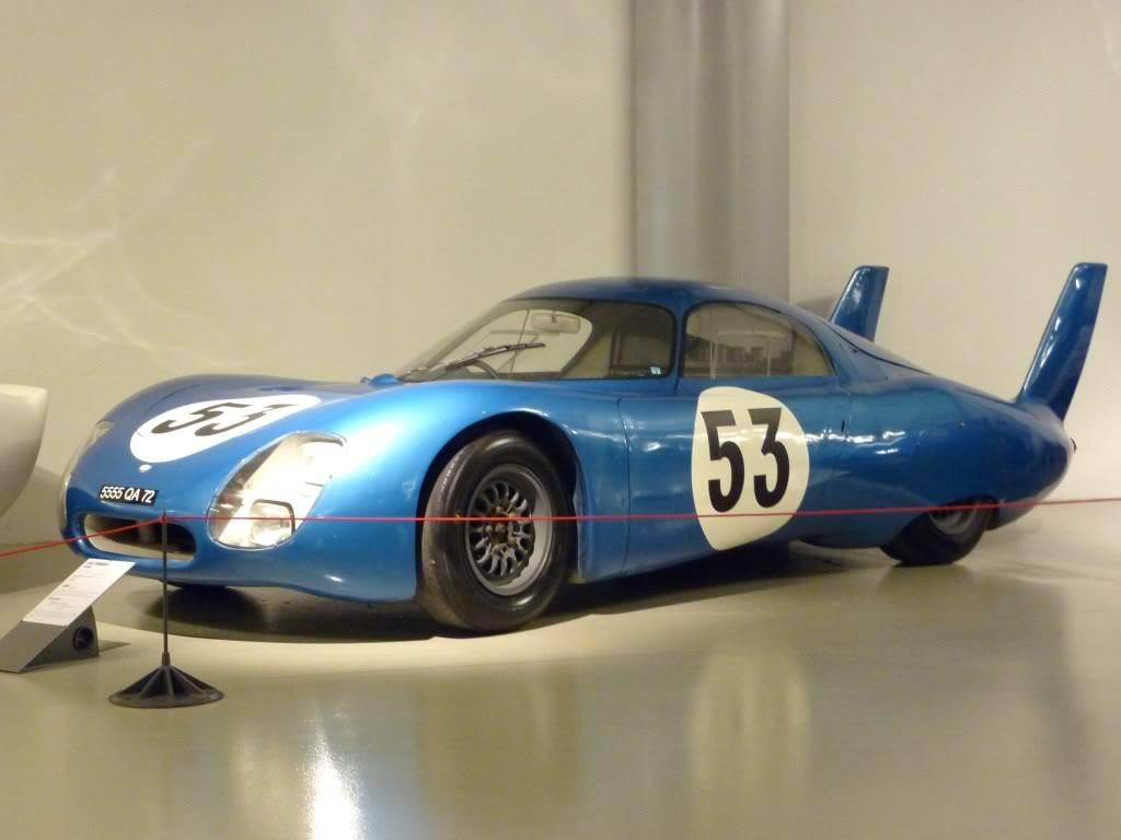 [ FOTOS ] Visita al Museo de las 24h de Le Mans P1020880
