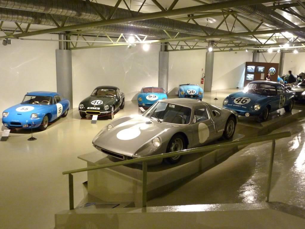 [ FOTOS ] Visita al Museo de las 24h de Le Mans P1020881