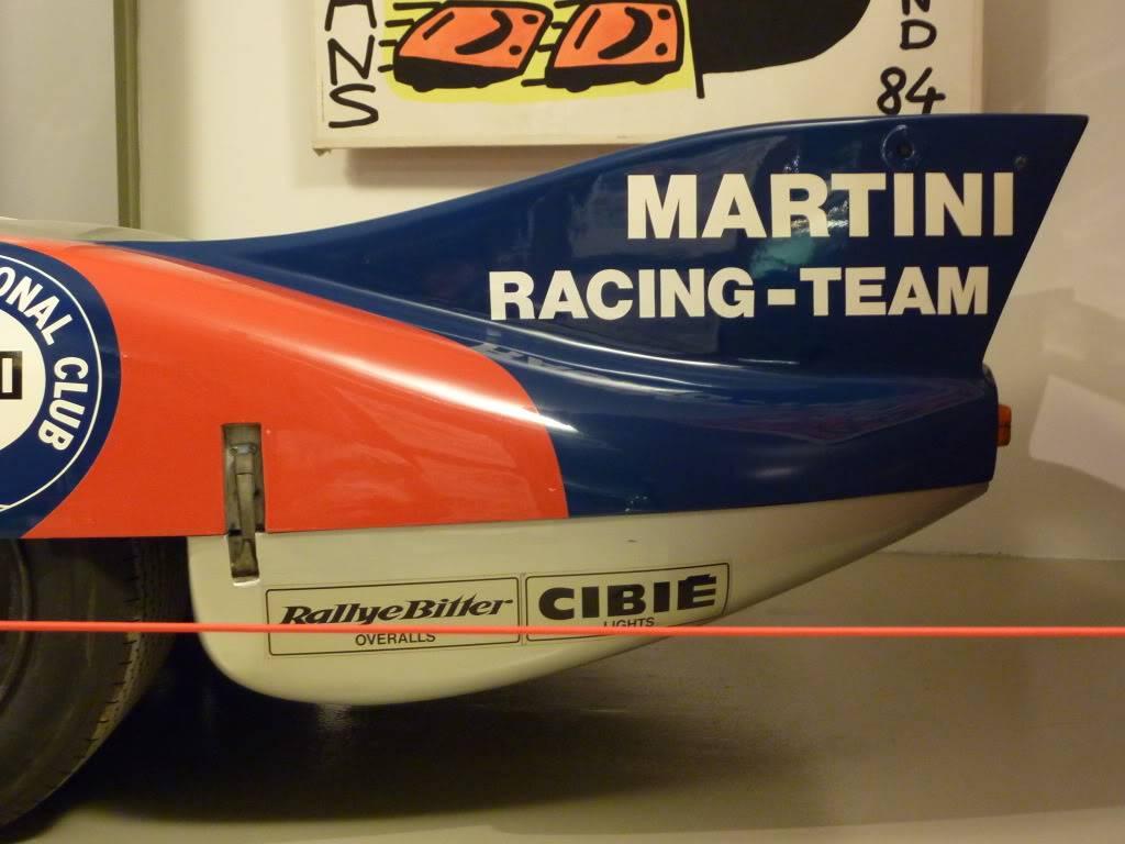 [ FOTOS ] Visita al Museo de las 24h de Le Mans P1020891