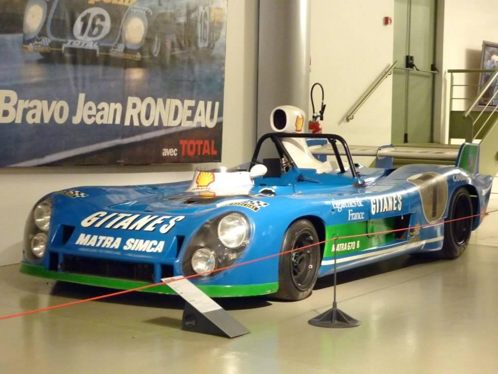 [ FOTOS ] Visita al Museo de las 24h de Le Mans P1020898