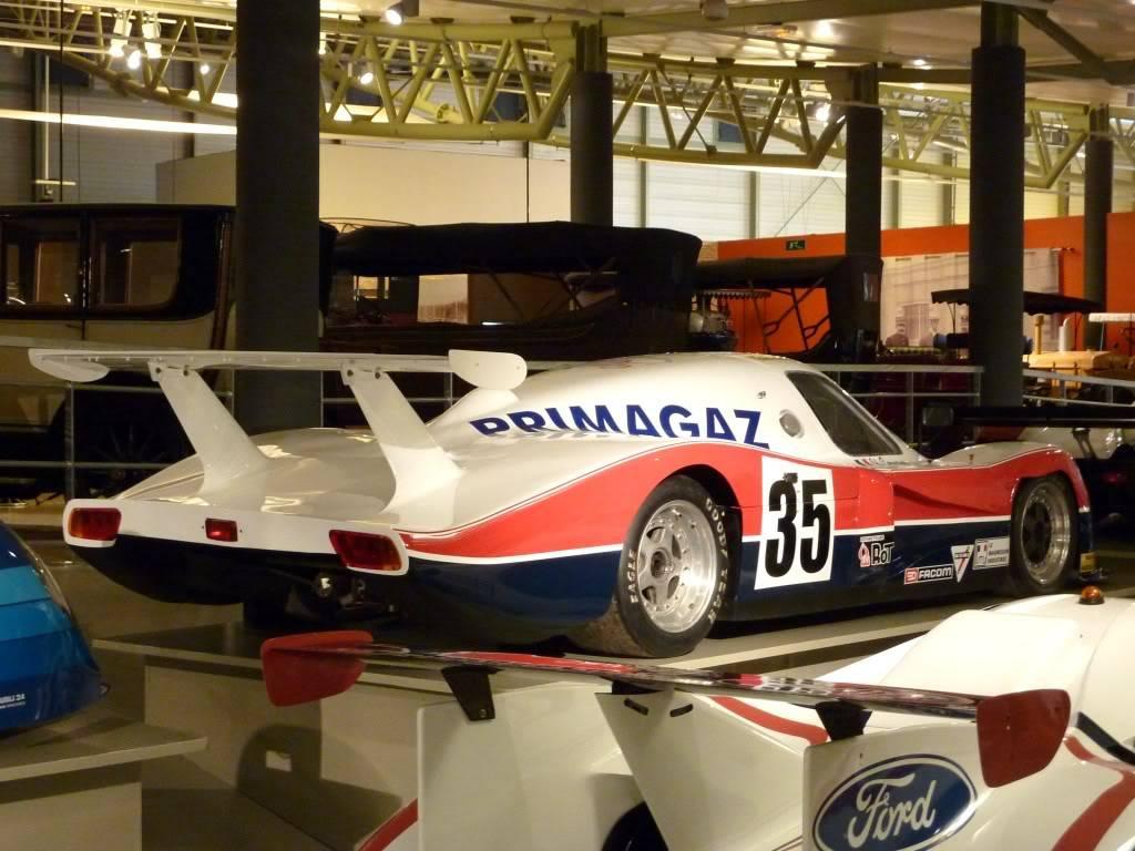[ FOTOS ] Visita al Museo de las 24h de Le Mans P1020904