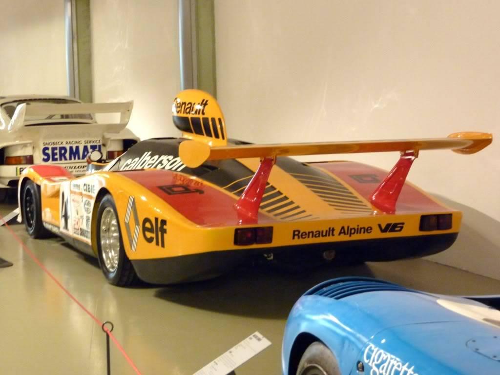 [ FOTOS ] Visita al Museo de las 24h de Le Mans P1020905