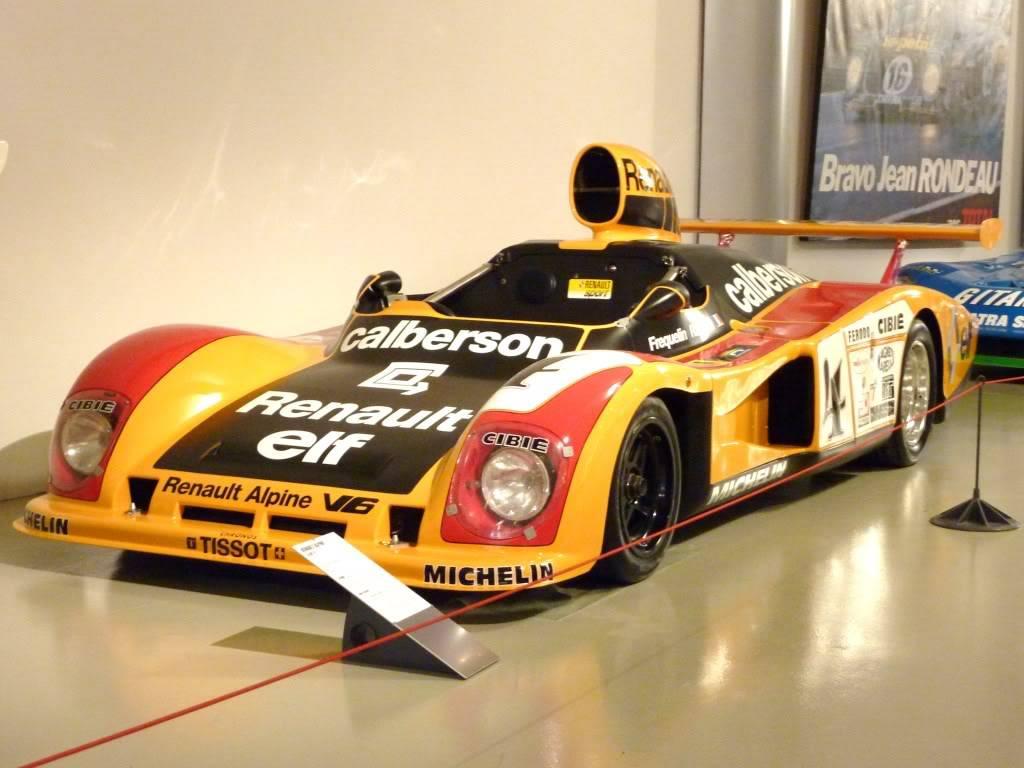 [ FOTOS ] Visita al Museo de las 24h de Le Mans P1020908
