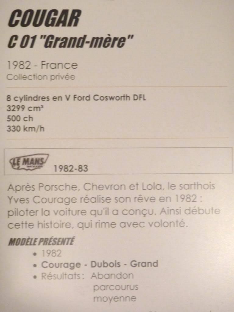[ FOTOS ] Visita al Museo de las 24h de Le Mans P1020911