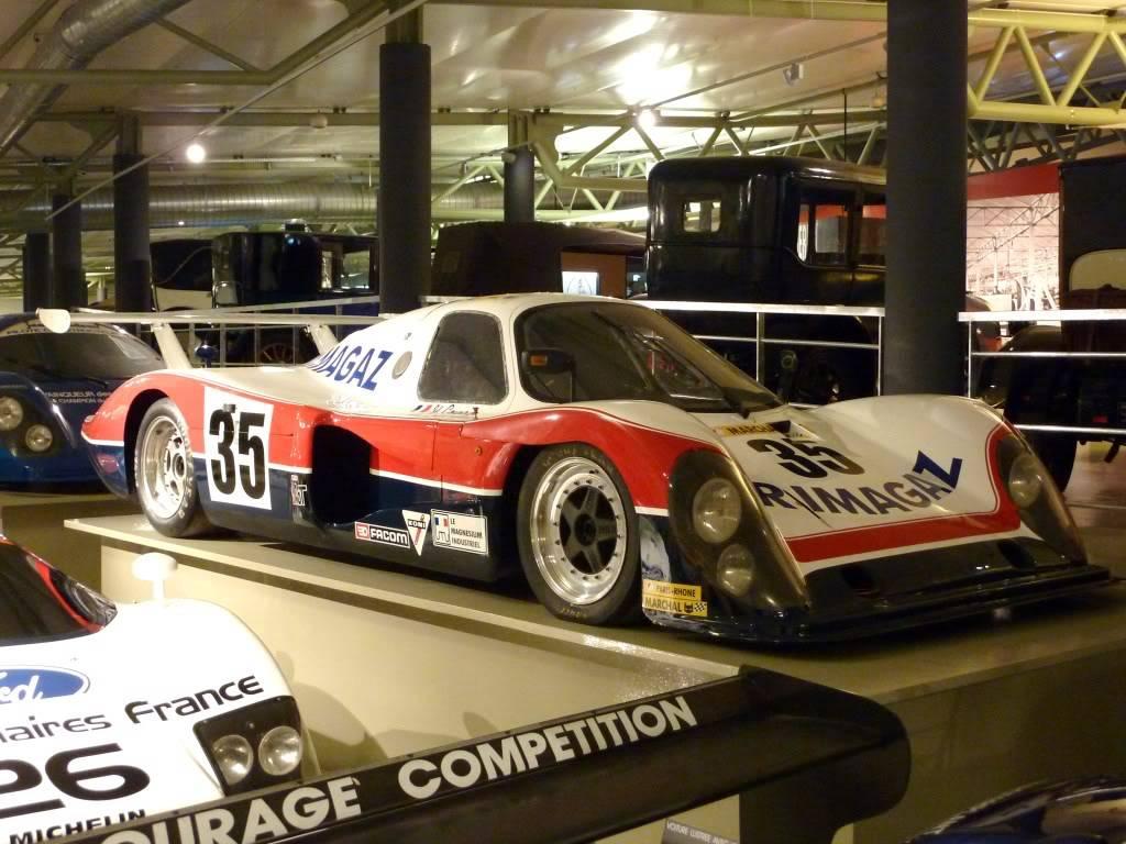 [ FOTOS ] Visita al Museo de las 24h de Le Mans P1020912