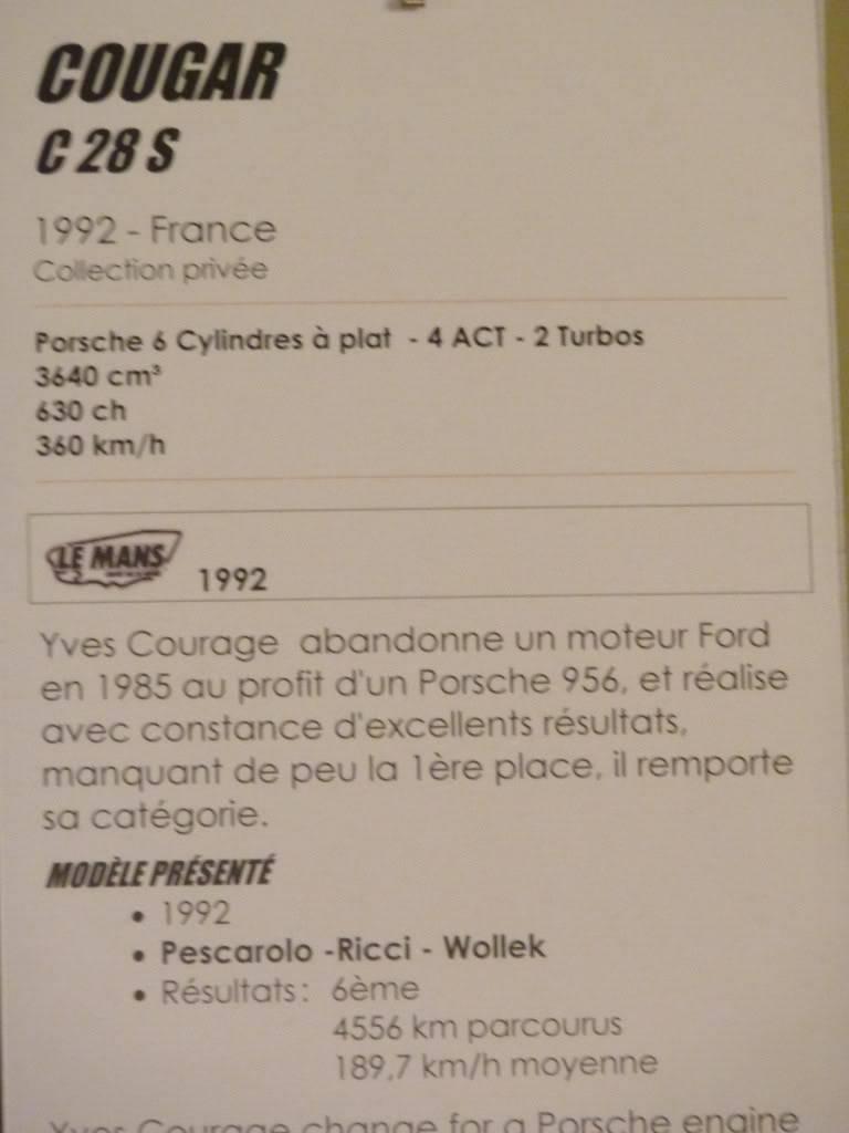 [ FOTOS ] Visita al Museo de las 24h de Le Mans P1020914