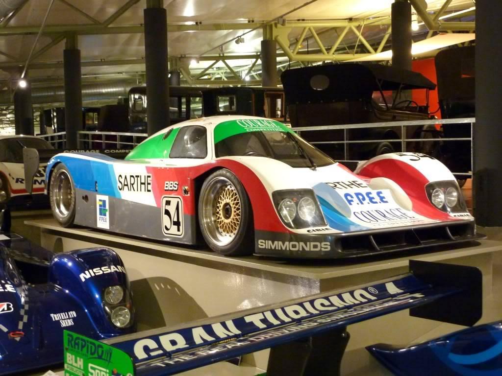 [ FOTOS ] Visita al Museo de las 24h de Le Mans P1020915