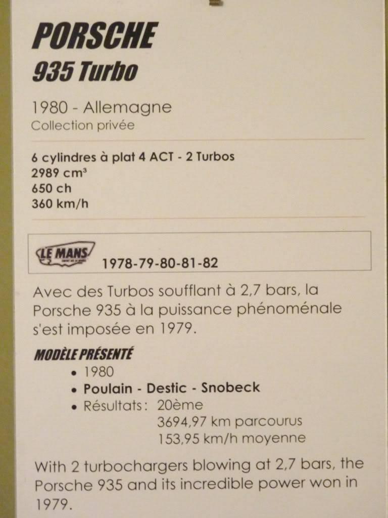 [ FOTOS ] Visita al Museo de las 24h de Le Mans P1020918