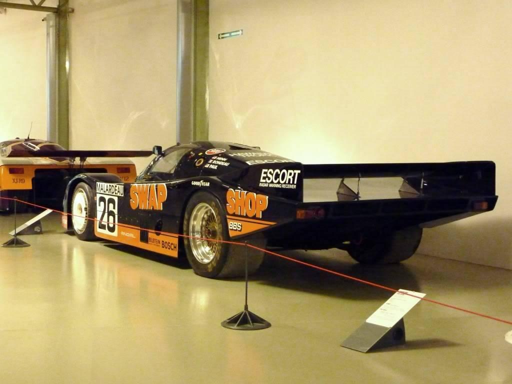 [ FOTOS ] Visita al Museo de las 24h de Le Mans P1020927