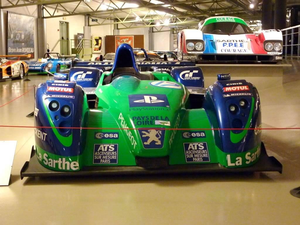 [ FOTOS ] Visita al Museo de las 24h de Le Mans P1020929