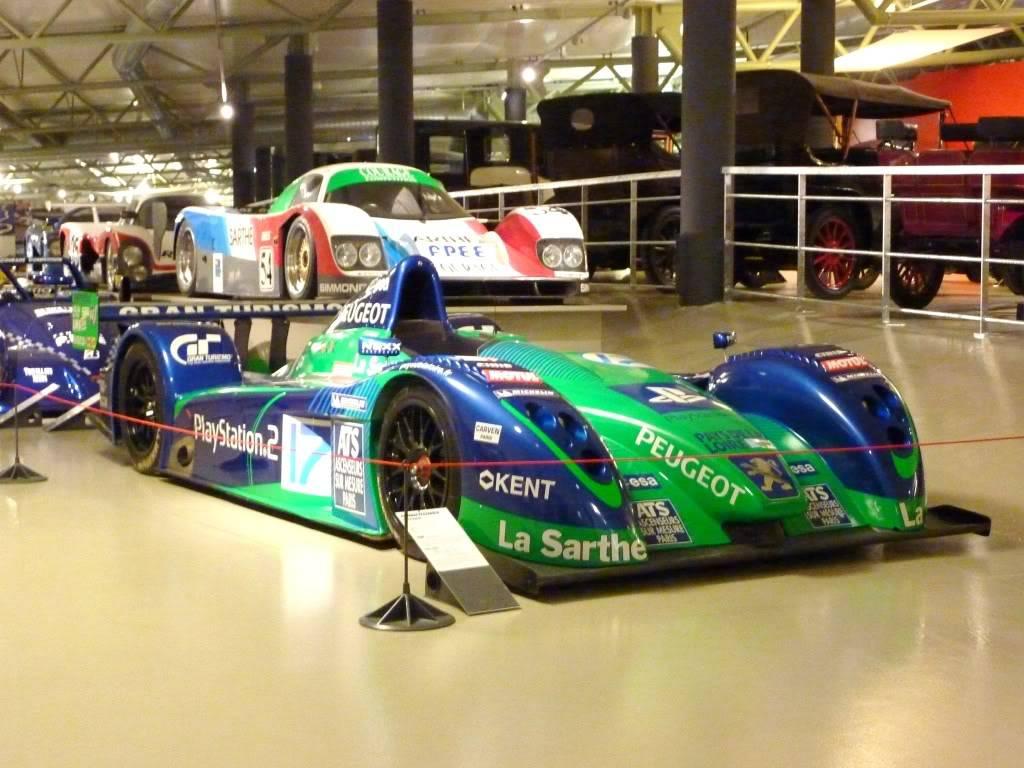 [ FOTOS ] Visita al Museo de las 24h de Le Mans P1020930