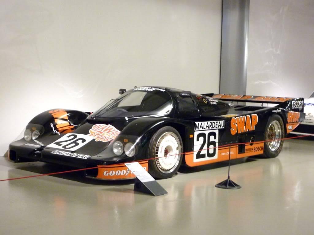 [ FOTOS ] Visita al Museo de las 24h de Le Mans P1020933