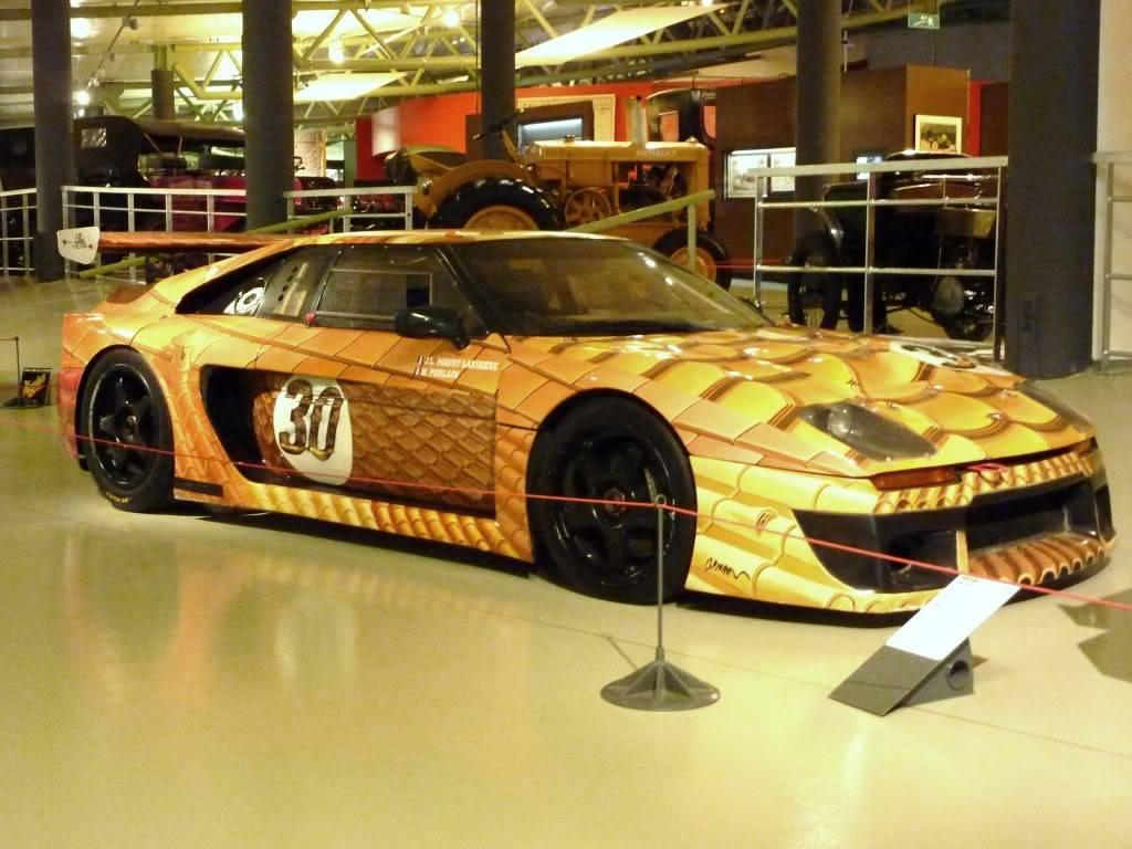 [ FOTOS ] Visita al Museo de las 24h de Le Mans P1020937