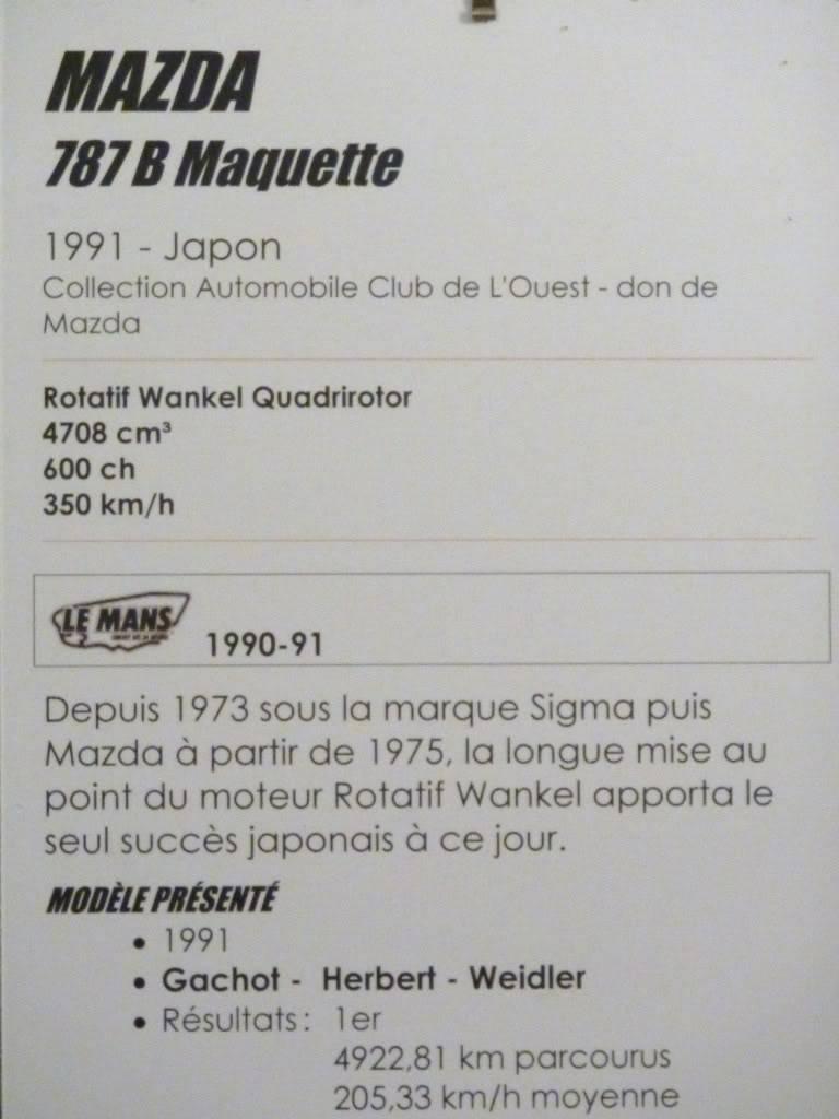 [ FOTOS ] Visita al Museo de las 24h de Le Mans P1020938