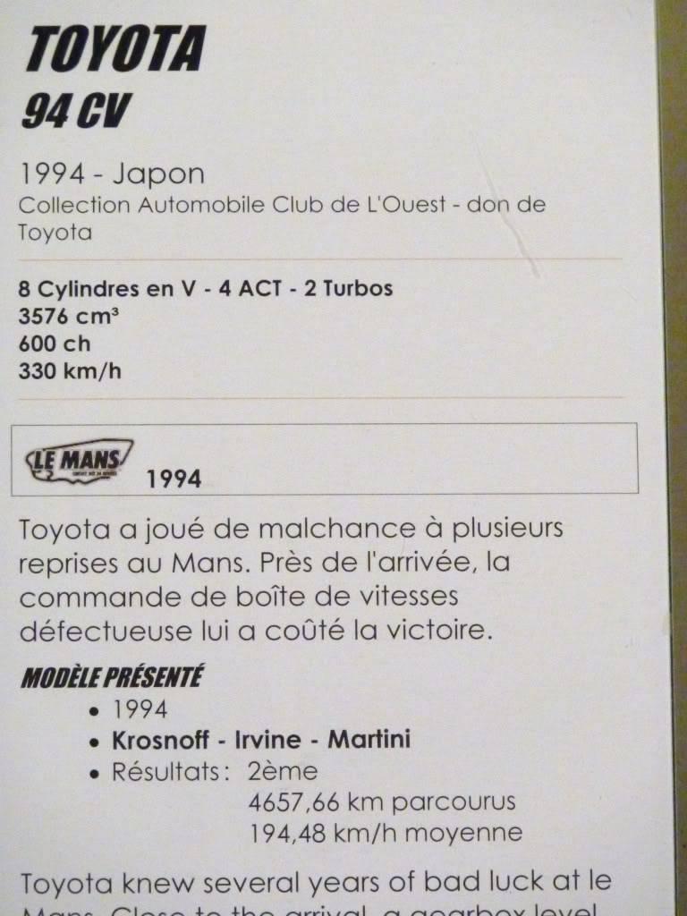 [ FOTOS ] Visita al Museo de las 24h de Le Mans P1020940
