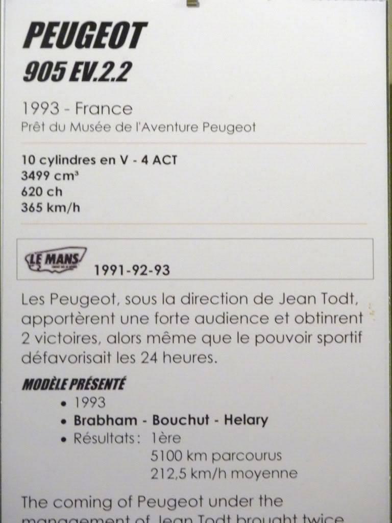 [ FOTOS ] Visita al Museo de las 24h de Le Mans P1020942