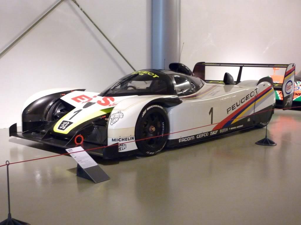 [ FOTOS ] Visita al Museo de las 24h de Le Mans P1020944