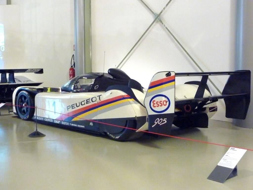 [ FOTOS ] Visita al Museo de las 24h de Le Mans P1020945