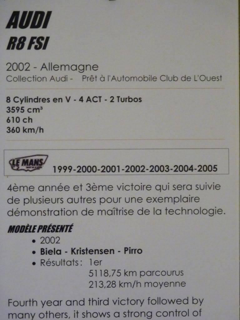 [ FOTOS ] Visita al Museo de las 24h de Le Mans P1020949