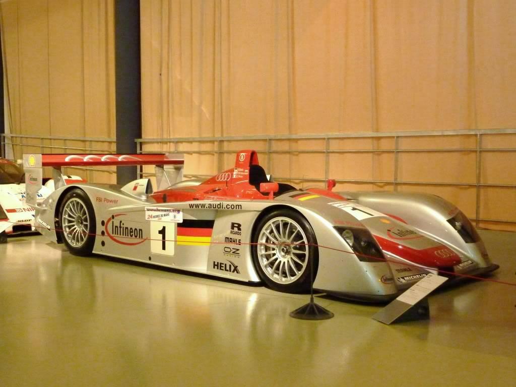 [ FOTOS ] Visita al Museo de las 24h de Le Mans P1020951