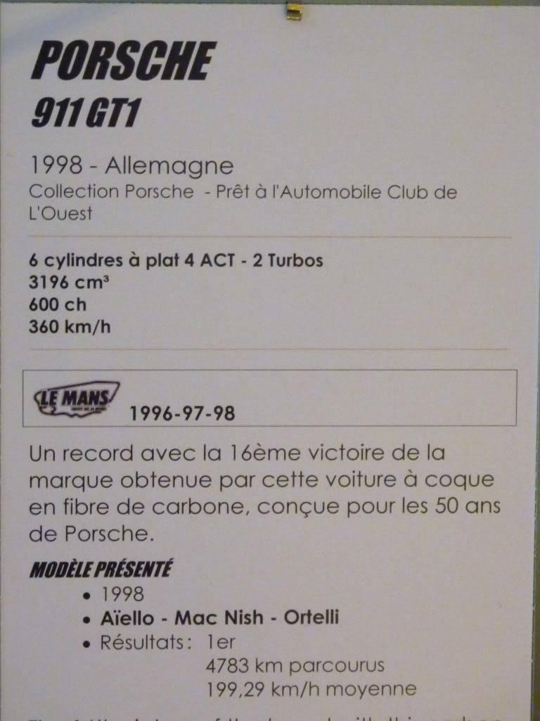 [ FOTOS ] Visita al Museo de las 24h de Le Mans P1020959