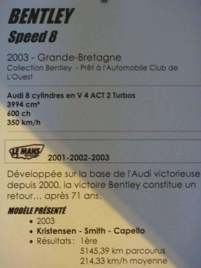 [ FOTOS ] Visita al Museo de las 24h de Le Mans P1020962