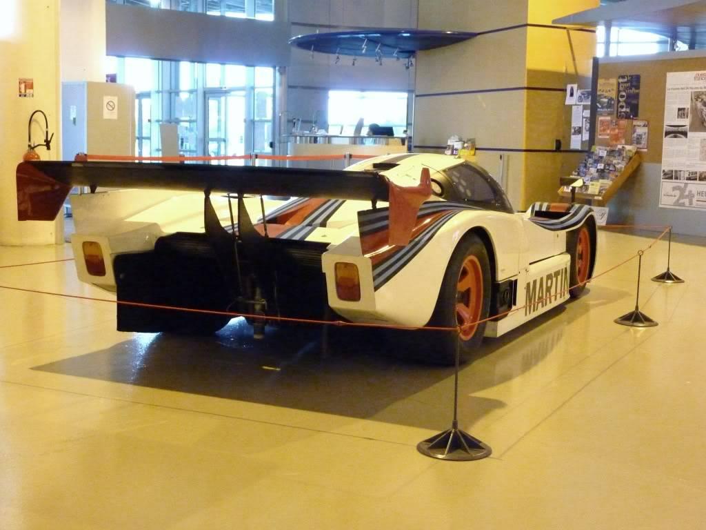 [ FOTOS ] Visita al Museo de las 24h de Le Mans P1020969
