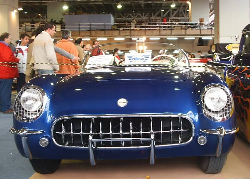 [ FOTOS ] Retromóvil 2007 Corvetteazul