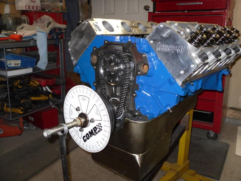 P-51 headed 472 build... DYNOED 472buildJune172010013
