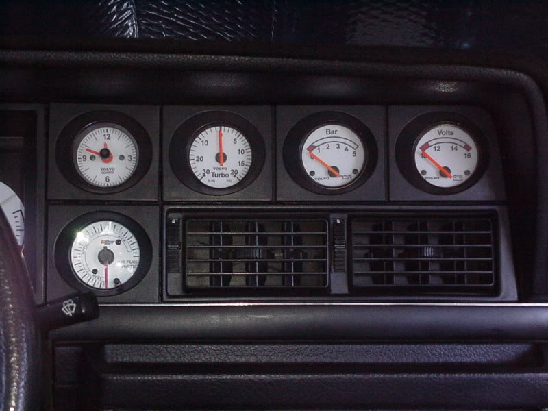 Jeh's 240 Start to current. Gauge3