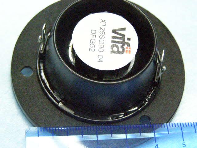 """Vifa 1"""" Dual Concentric Hi-End Tweeter XT25SC P6070029"""