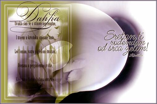 Dahlia, sreæan roðendan ... Dahlia-1