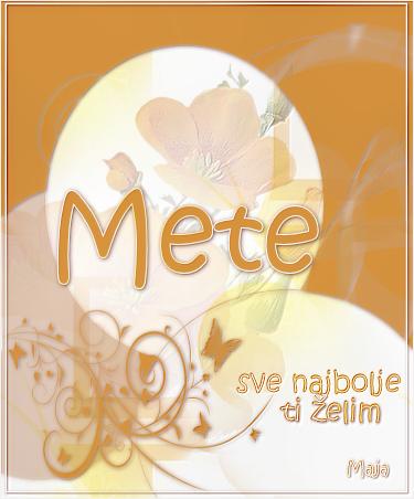 Meteorka, srecan ti rodjendan Mete