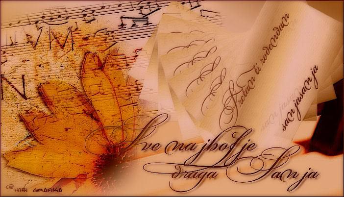 Sanjasanja,od srca ti zelimo... Sanja