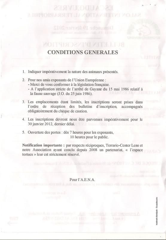 2eme bourse d'Escaudoeuvres le 19.02.2012  Conditions-gnrales