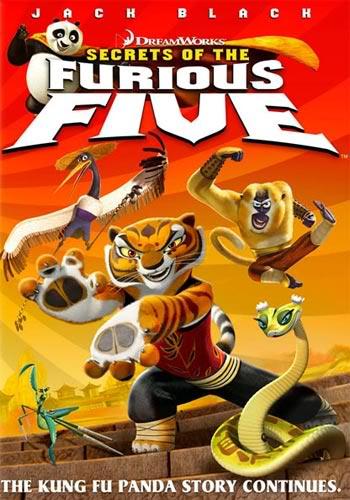 """""""Kung Fu Panda: La pelicula """" + Corto """"El secreto de los 5 furiosos """" - Post Oficial FuriousFivePoster"""