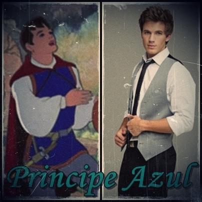 Personajes de los cuentos PrincipeAzulBlanca2