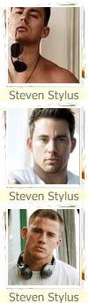 Steven Stylus ---> Channing Tatum StevenStylus1