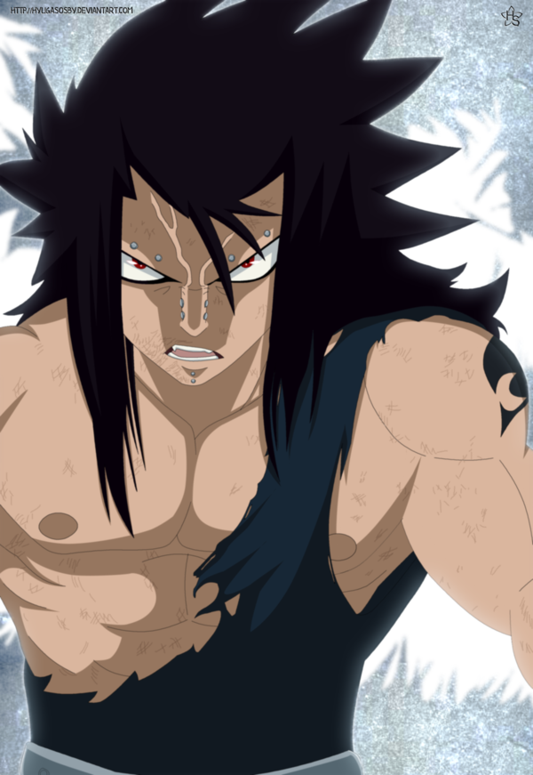 [Crossover!] The One-winged Angel versus the Dragon Slayers! Gajeel