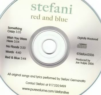 "Stefani Germanotta Band >> EP ""Red and Blue"" - Página 2 Rbdisc"