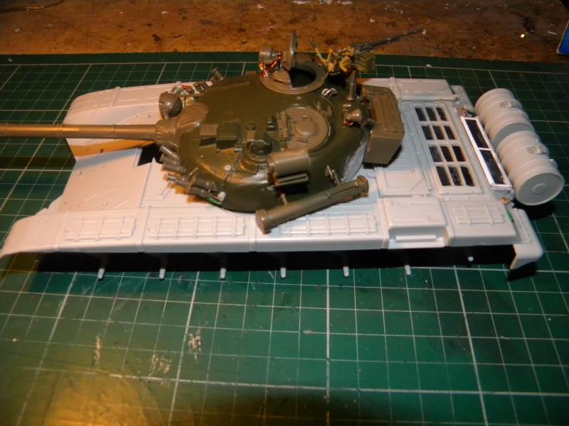 T-72 montage terminé TR72012