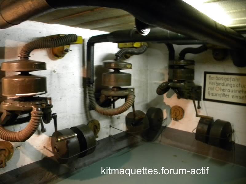 bunker - visite du musée du grand bunker à Ouistreham Ouistreham024