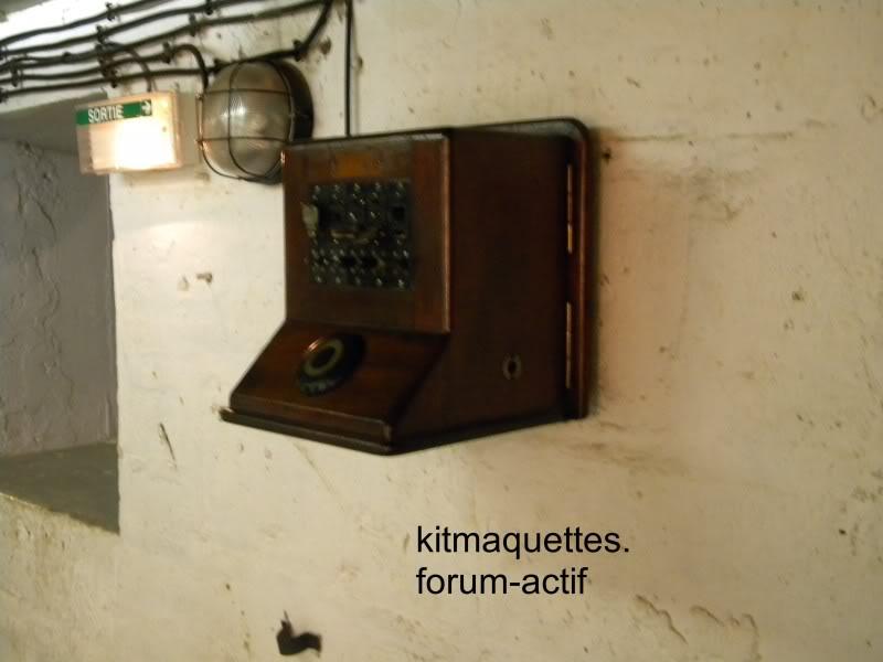 bunker - visite du musée du grand bunker à Ouistreham Ouistreham025