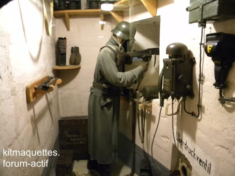 bunker - visite du musée du grand bunker à Ouistreham Ouistreham030