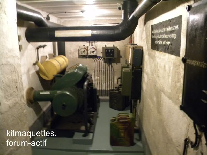 bunker - visite du musée du grand bunker à Ouistreham Ouistreham031