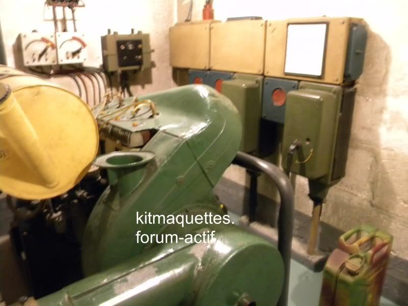 bunker - visite du musée du grand bunker à Ouistreham Ouistreham033