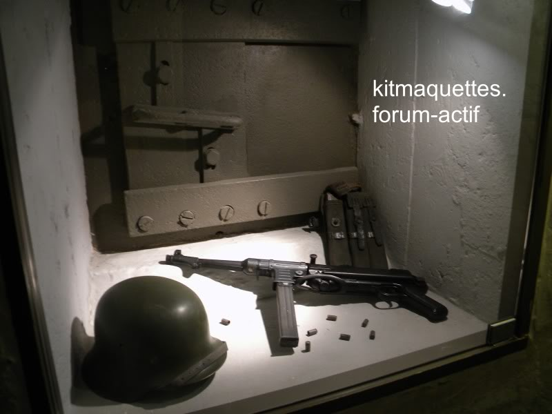 bunker - visite du musée du grand bunker à Ouistreham Ouistreham034
