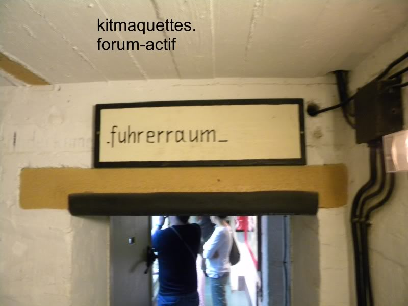 bunker - visite du musée du grand bunker à Ouistreham Ouistreham036