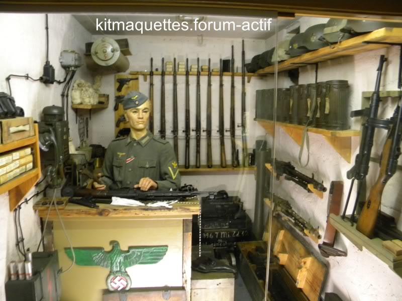bunker - visite du musée du grand bunker à Ouistreham Ouistreham037