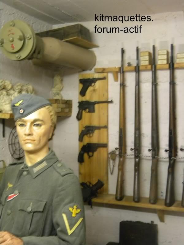 bunker - visite du musée du grand bunker à Ouistreham Ouistreham042
